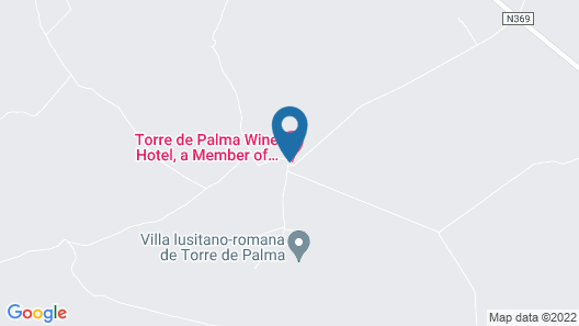 Torre de Palma Wine Hotel - Design Hotels Map