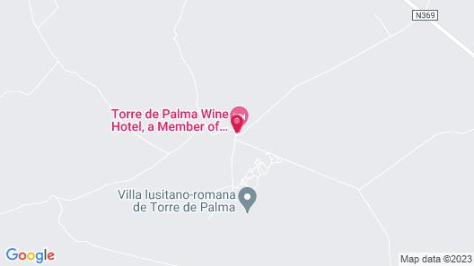 Torre de Palma Wine Hotel - Design Hotels Map