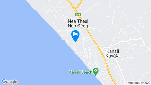 Hotel Ionian Theoxenia Map