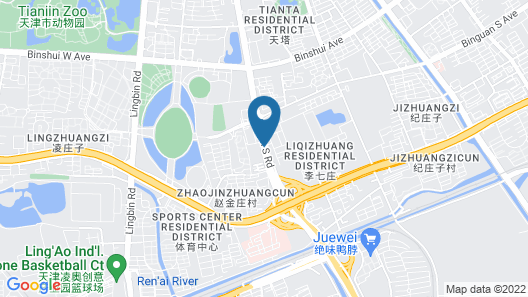 Fraser Place Tianjin Map