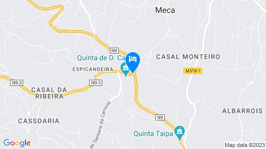 Quinta Ribeira do Labrador - Lisbon West Wine Route Map