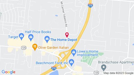 Days Inn by Wyndham Cincinnati East Map