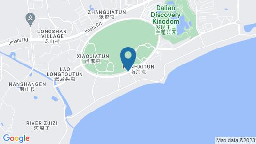 Hilton Dalian Golden Pebble Beach Resort Map