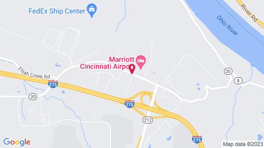 Hampton Inn Cincinnati Airport - North Map