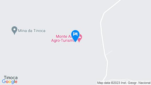Monte Alto Agro Turismo Map