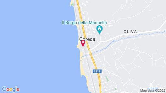 Le Mandrelle Beach Resort Map