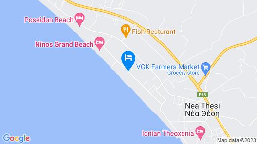 Golden Beach Hotel Map