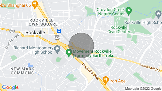 Charming Home Minutes From Downtown Rockville Map
