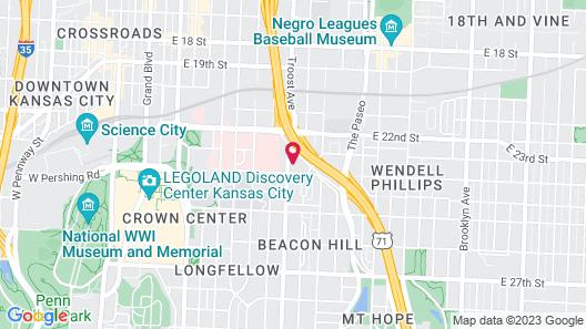 La Quinta Inn & Suites by Wyndham Kansas City Beacon Hill Map