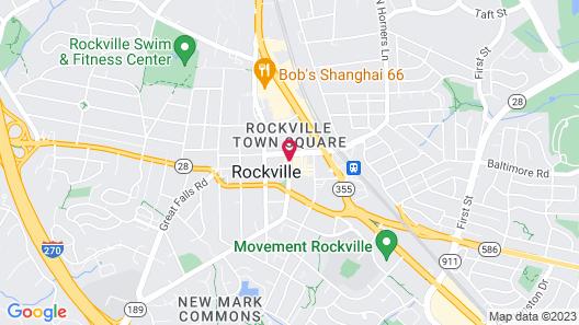 Cambria Hotel Rockville Map