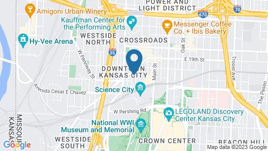 Crossroads Hotel Map