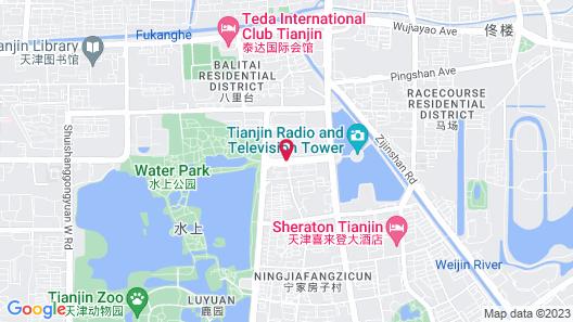 Conrad Tianjin Map