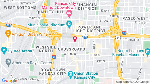Residence Inn by Marriott Kansas City Downtown/ Convention Map