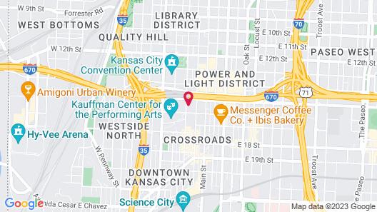 Loews Kansas City Hotel Map