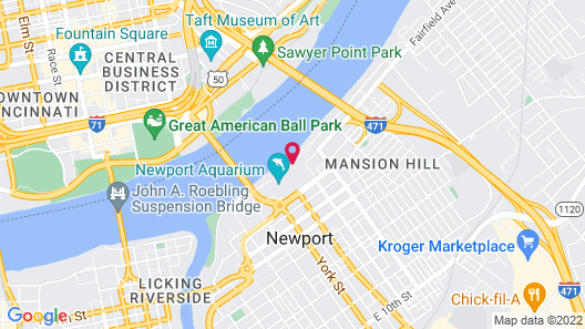 Waterfront Apartments by Frontdesk Map