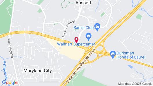 Travelodge by Wyndham Laurel Map