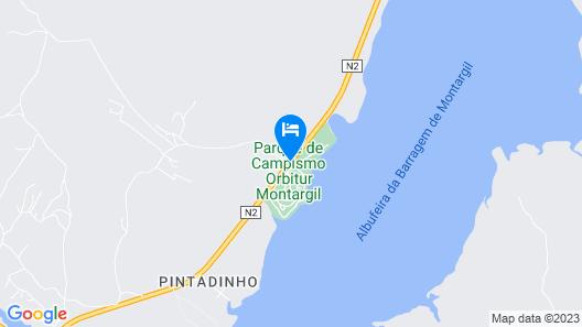 Parque de Campismo Orbitur Montargil Map