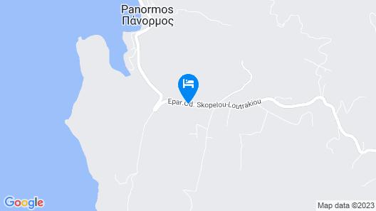 Villa Sandra Map