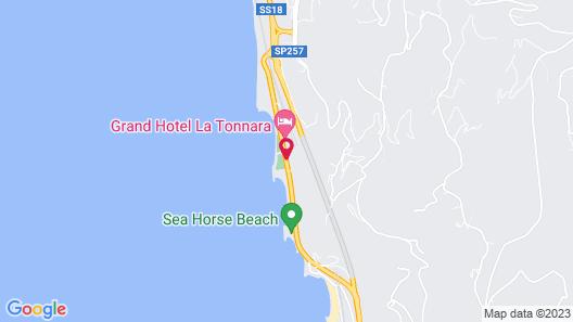 La Tonnara Map