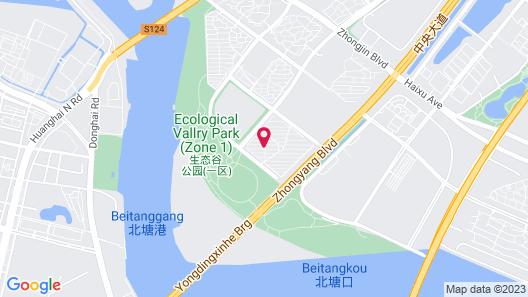Hilton Tianjin Eco City Map