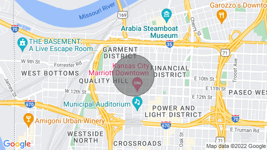 2BR 2BA Brand NEW Loft Downtown Kansas City, MO IN Historic Building Map