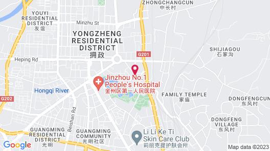 GreenTree Inn DaLian JinZhou District Light Industry College Express Hotel Map
