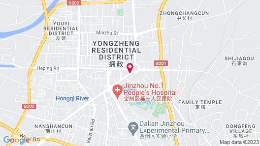 Motel 168 Dalian Jiefang Plaza Map
