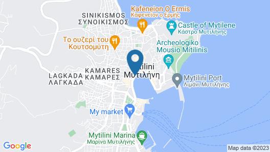 Hotel Lesvion Map