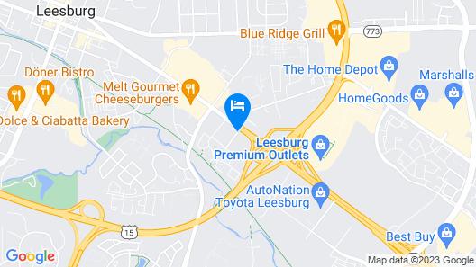Red Roof Inn Leesburg Map