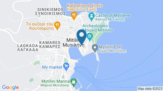 Theofilos Paradise Boutique Hotel Map