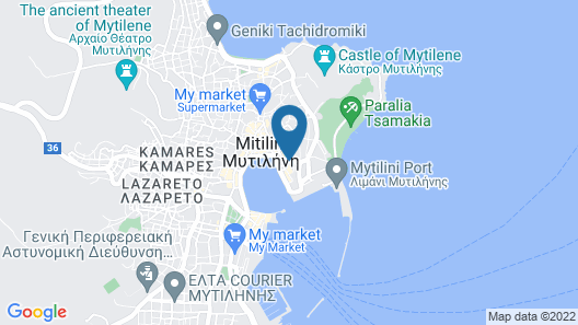 Theofilos Paradise Boutique Hotel Map