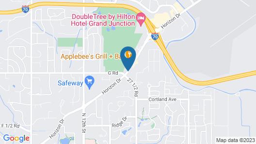 Mesa Inn Map