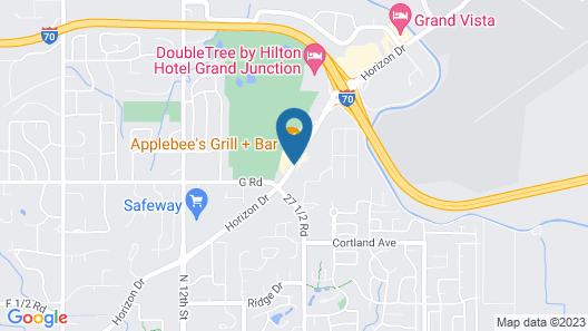 Days Inn by Wyndham Grand Junction Map