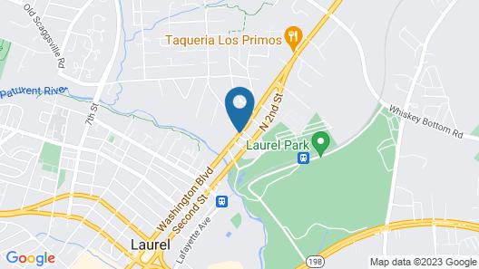 Sleep Inn And Suites Laurel Map