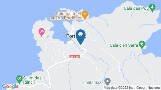 Granada Apartments Ibiza Map