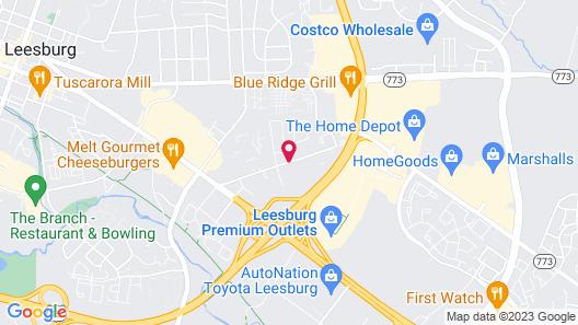 Homewood Suites by Hilton Leesburg Map