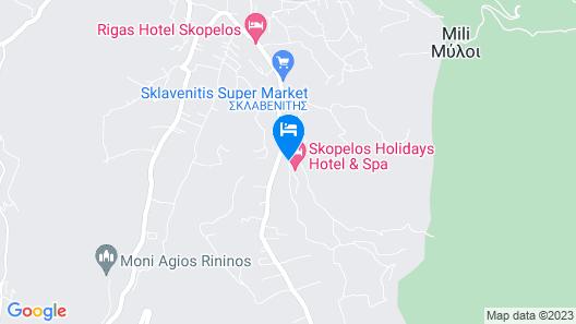 Skopelos Holidays Hotel & Spa Map