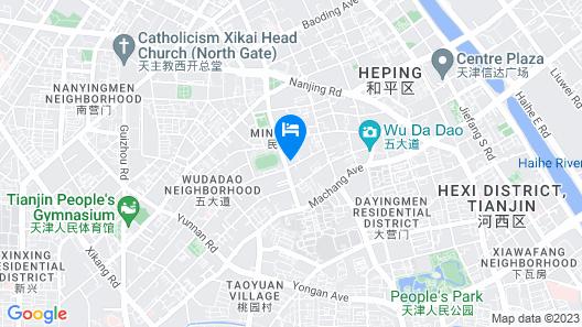 The Ritz-Carlton, Tianjin Map