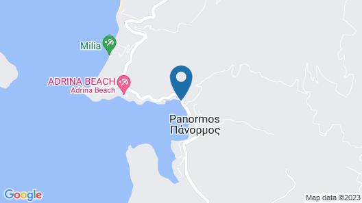 Blue Green Bay Map