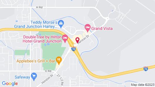 Clarion Inn Grand Junction Map