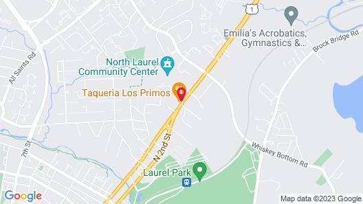 Super 8 by Wyndham Laurel Map