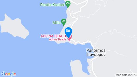Adrina Resort & Spa Map