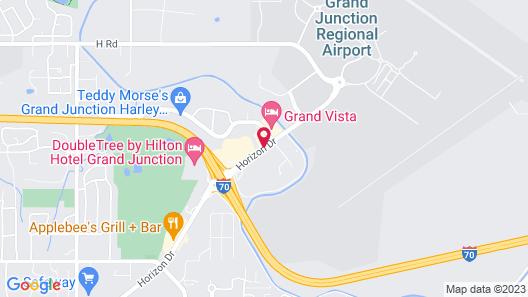 Comfort Inn Grand Junction I-70 Map