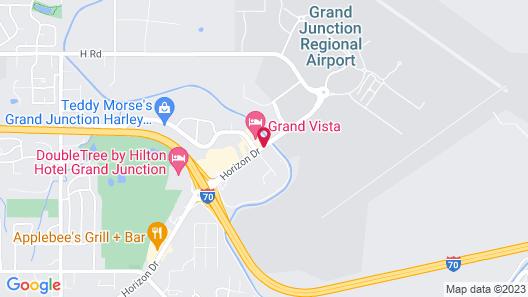 Americas Best Value Inn Grand Junction Map