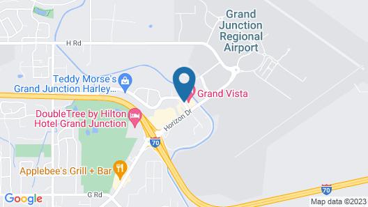 Grand Vista Hotel Map