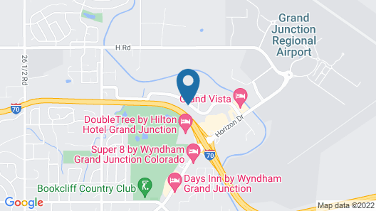 Holiday Inn and Suites Grand Junction, an IHG Hotel Map