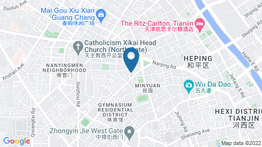 Somerset International Building Tianjin Map
