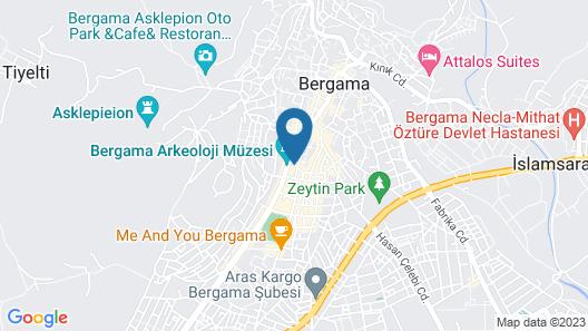 Anil Hotel Map
