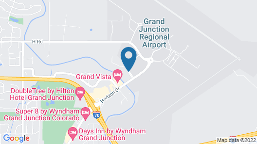 Courtyard by Marriott Grand Junction Map