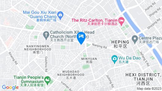The Westin Tianjin Map